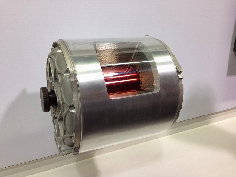 tesla model x elektromotor