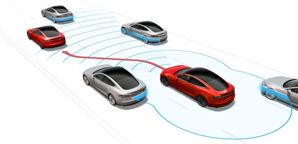 tesla autopilot enhanced self-drive hardware 2