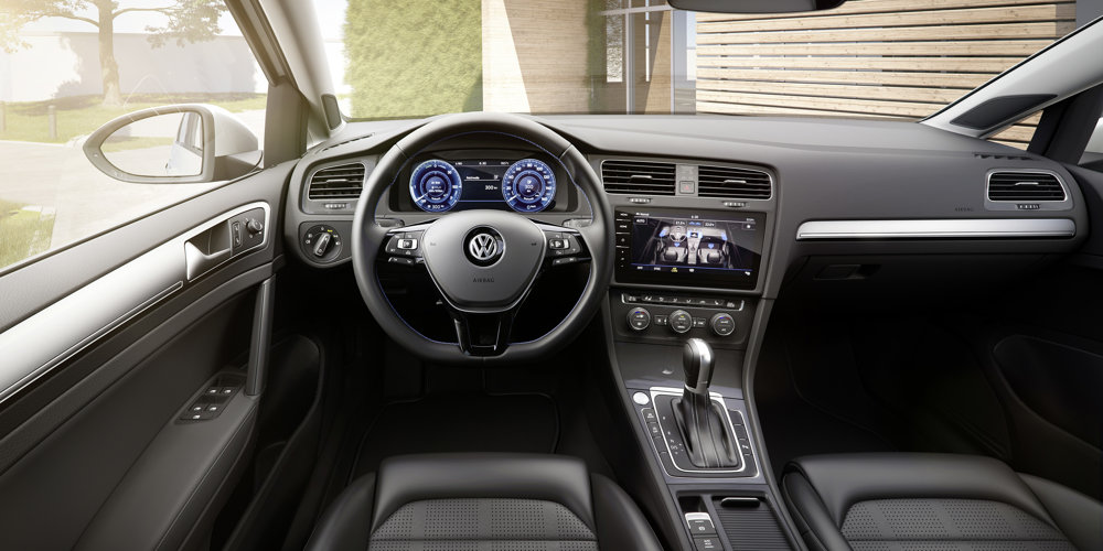 novy vw e-golf interier