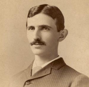 Nikola Tesla vo veku 29 rokov (1885)