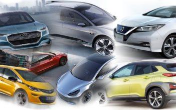 elektromobily 2018