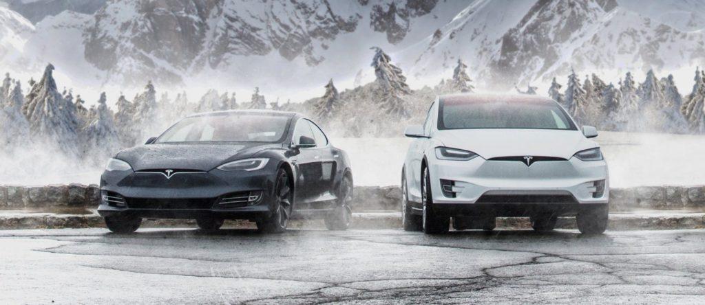 norsko elektromobily tesla predaje