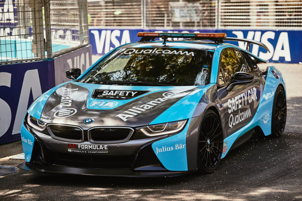 bmw i8 safety car formula e