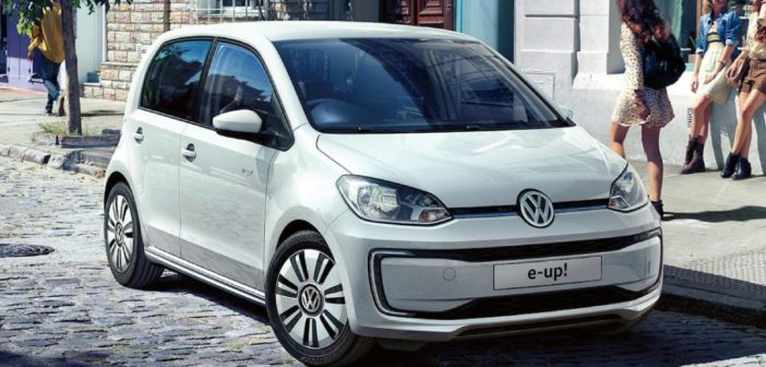 volkswagen e-up specifikacie