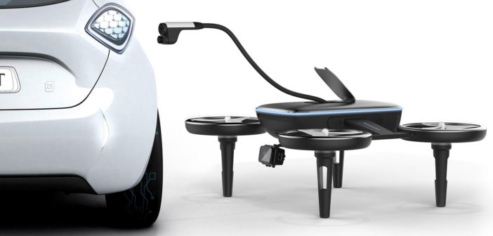 drone volt nabijaci dron pre elektromobily