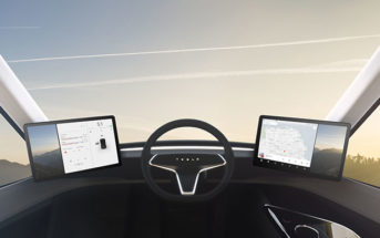 tesla semi armor glass