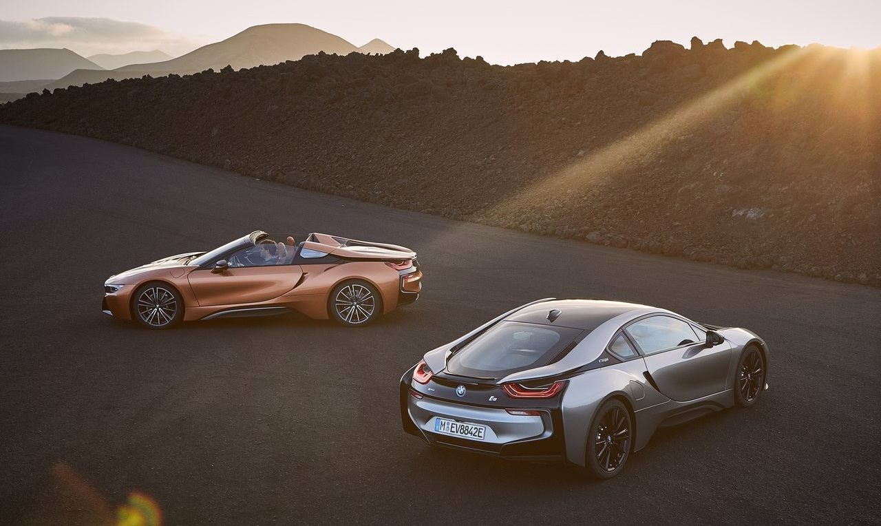 bmw i8 roadster coupe