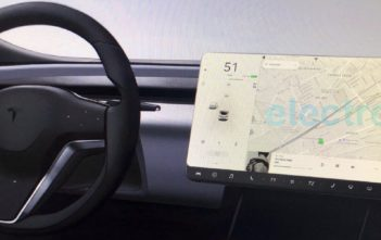 tesla model s x facelift interier