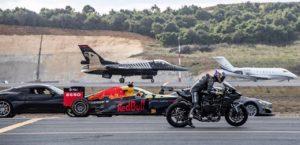 tesla drag race formula 1