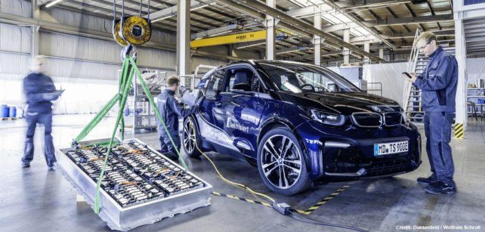 recyklacia baterii elektromobilov