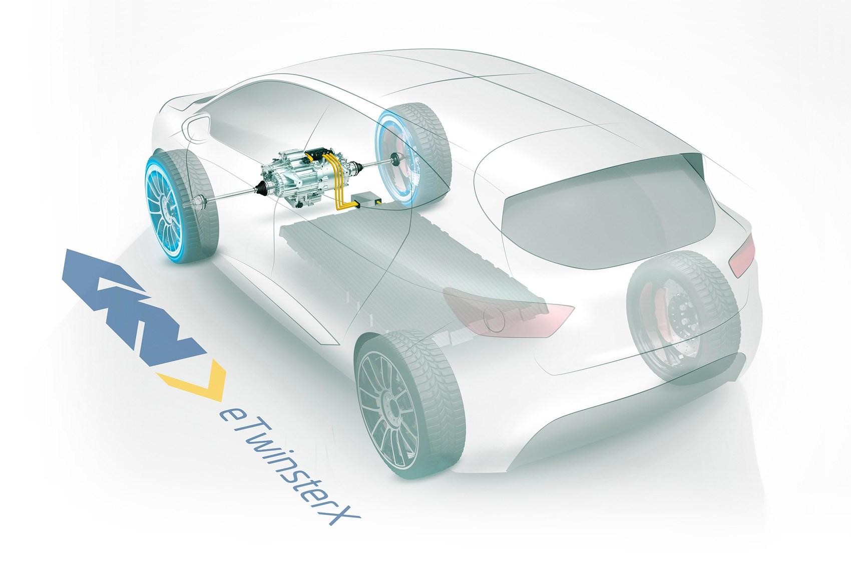 2-stupnova prevodovka elektromobily