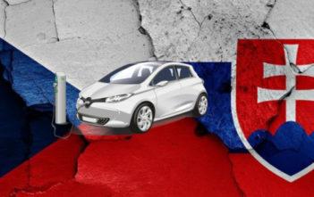 nabijacie stanice elektromobily slovensko cesko podpora