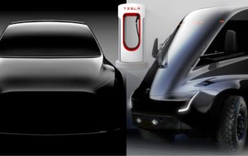 tesla model y supercharger v3 pickup