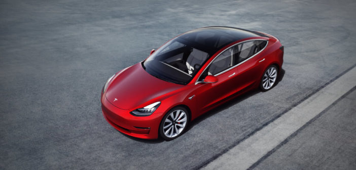 tesla model 3 standard range plus europa
