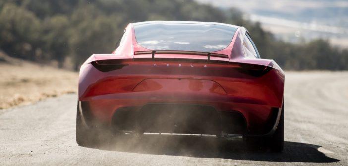 tesla roadster 2 zrychlenie raketove motory