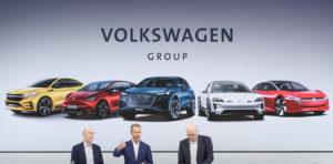 volkswagen group elektromobilita