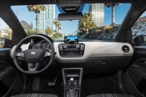 seat mii electric interier