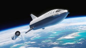 starship spacex city-to-city travel by rocket