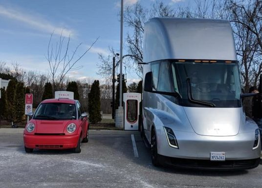 """Tesla bojuje o presadenie """"mega""""-výkonného nabíjacieho štandardu"""