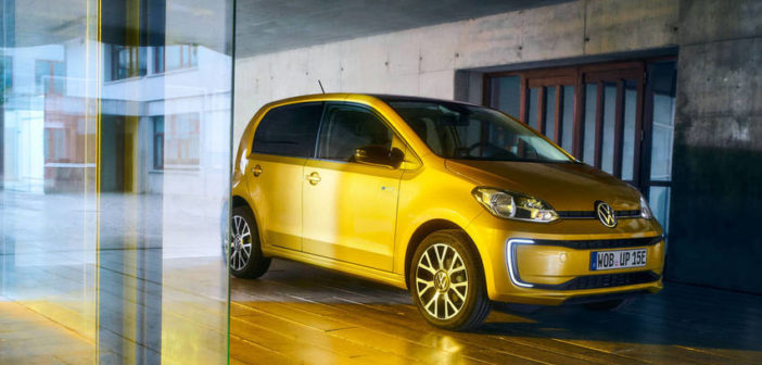 volkswagen e-up cena