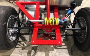 elektricka motokara tesla pohon driftec electric racing