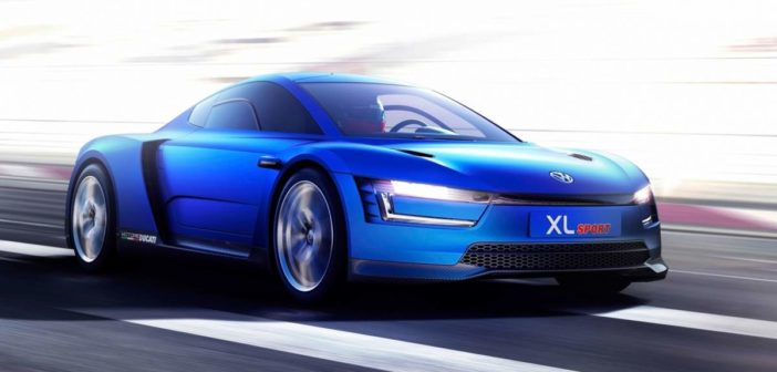 volkswagen sportovy elektromobil