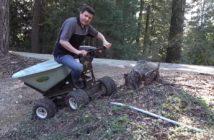 elektricky furik overland cart
