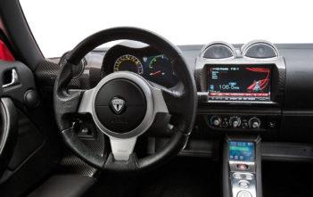 tesla roadster 1 interier