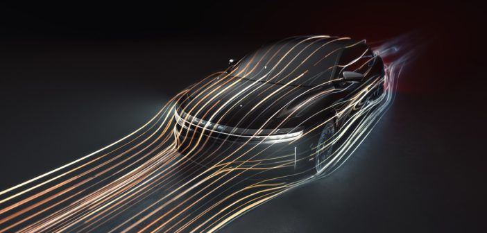 lucid air koeficient odporu vzduchu aerodynamika