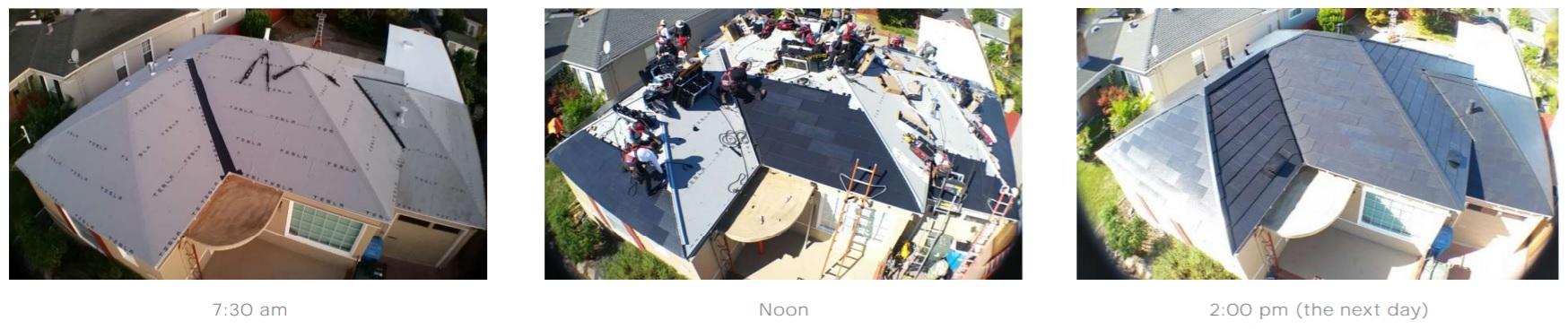 tesla solarna strecha doba instalacie