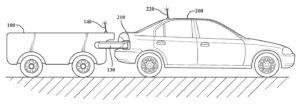 toyota autonomne nabijanie elektromobilov