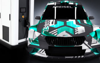 skoda fabia re-x1 elektromobil rally