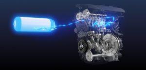 spalovaci motor vodik toyota