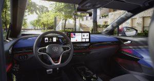 volkswagen id.4 gtx interier